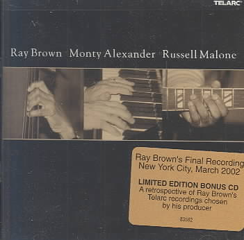 RAY BROWN/MONTY ALEXANDER/RUSSELL MAL BY BROWN,R/ALEXANDER, (CD)
