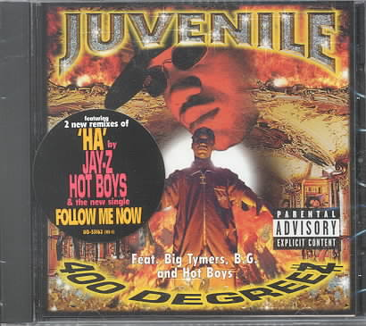 400 DEGREEZ BY JUVENILE (CD)